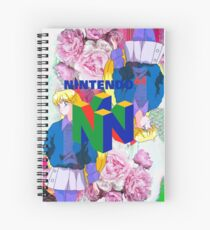 Nintendo Aesthetic Design Spiral Notebook