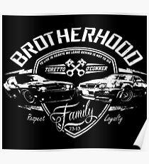 Fast and Furious - Brotherhood Poster