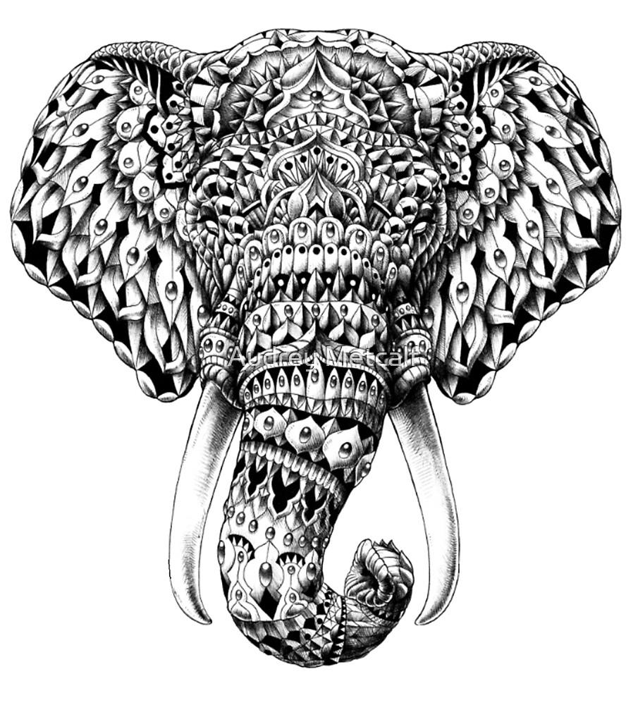 «El Sr. Frodo mira que es un Elefante» de Audrey Metcalf