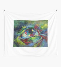 Eye Modified Wall Tapestry