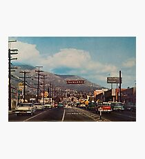 Sunland, California 1950's Photographic Print