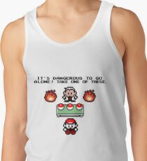 Zelda Pokemon Tank Top