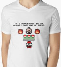 Zelda Pokemon Men's V-Neck T-Shirt
