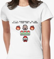 Zelda Pokemon Womens Fitted T-Shirt