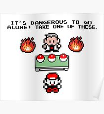 Zelda Pokemon Poster