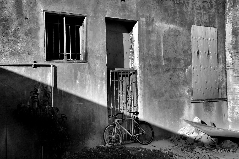 Bicycle Parking by Bob Wall