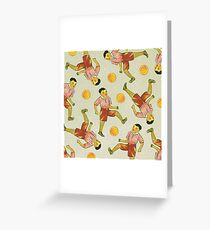 Dicky Bow - Striker Greeting Card