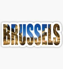 Brussels. Sticker