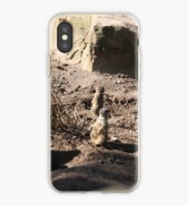 Meerkats on look out iPhone Case