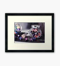 Dice Lover Framed Print
