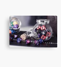 Dice Lover Canvas Print