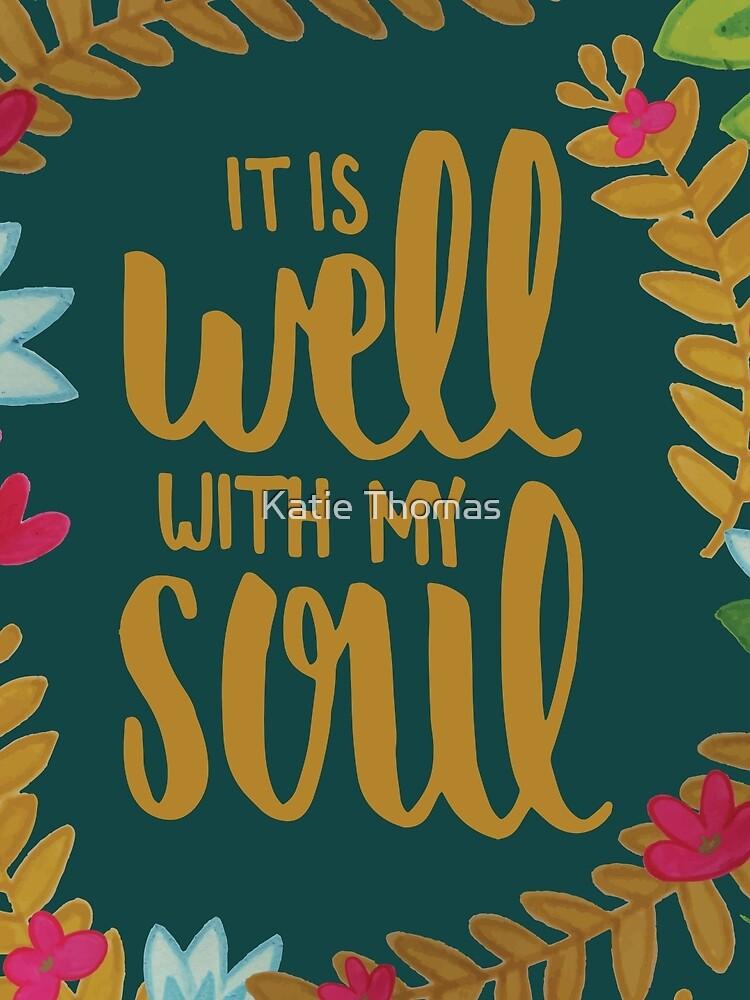 Es ist gut mit meiner Seele, Floral von klthomas14