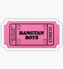 BTS - Ticket Stub Sticker
