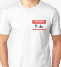 SHINee Minho name tag Unisex T-Shirt