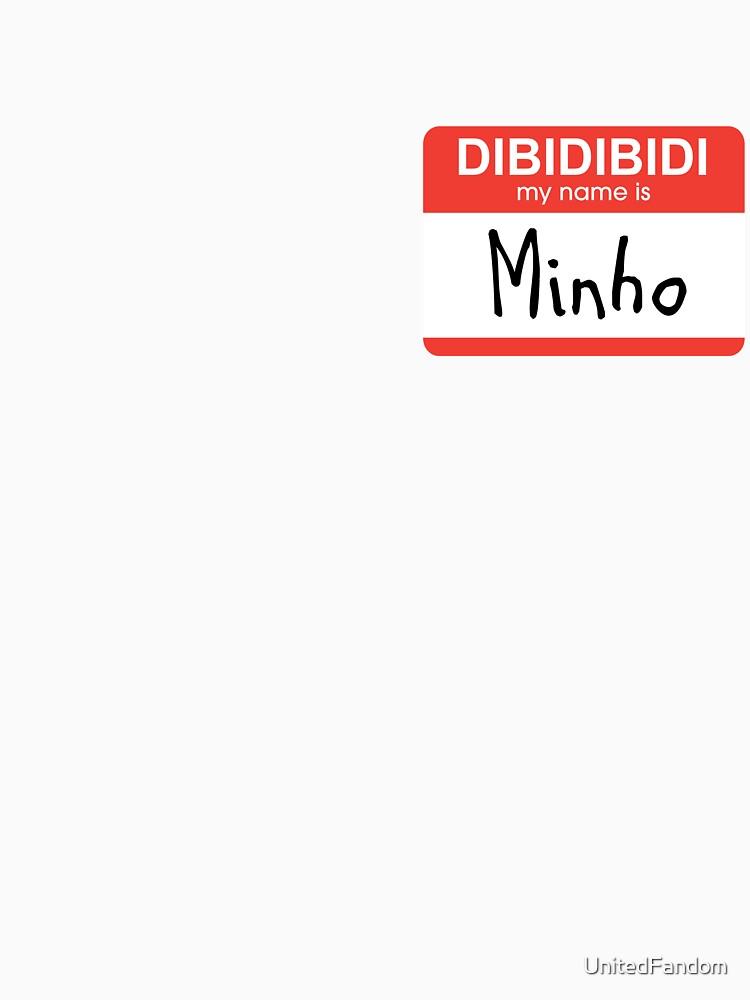 SHINee Minho Namensschild von UnitedFandom