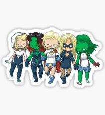 Super BFFs 2 Sticker