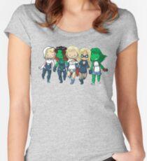 Super BFFs 2 Women's Fitted Scoop T-Shirt