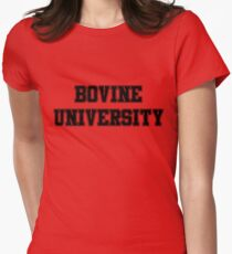 Bovine University – Ralph Wiggum, The Simpsons Women's Fitted T-Shirt