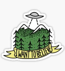 i want to believe Sticker