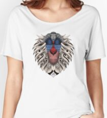 Ornate Rafiki Vol. 2 Colored Women's Relaxed Fit T-Shirt