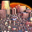 'Shiny Refinery' by Scott Bricker
