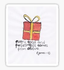 James 1: Gift from above Sticker