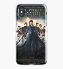 Pride and prejudice and zombies poster iPhone Case/Skin