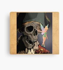 Tink and Willy Duvet Metal Print
