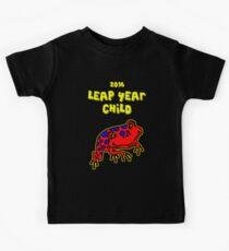 2016 Leap Year Child (Baby Onesie) Kids Tee