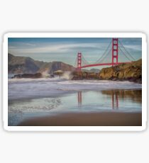 Baker Beach - San Francisco - California - USA Sticker