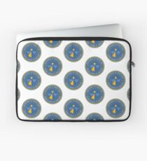 Department of Redactions - Federal Bureau of Omissions Laptop Sleeve