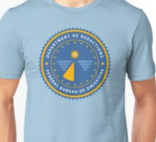 Department of Redactions - Federal Bureau of Omissions Unisex T-Shirt