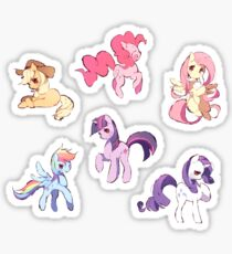 My Little Pony Sticker Batch Sticker