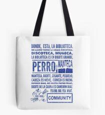La Biblioteca Rap - Community Tote Bag