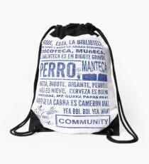 La Biblioteca Rap - Community Drawstring Bag