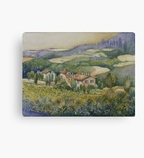 Sunflowers - Tuscany Canvas Print