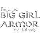 Big Girl Armor - Silver Chain Mail by ladyrockbottom