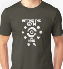 Hitting The Pokemon Gym T-Shirt