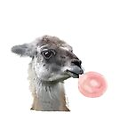 Llama Bubbles by IconicTee