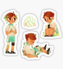 OIKAWA + plants Sticker