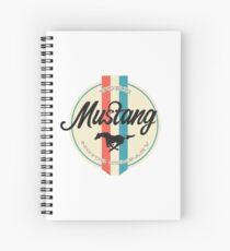 Mustang retro Spiral Notebook
