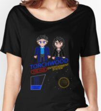 NINTENDO: NES Torchwood  Women's Relaxed Fit T-Shirt