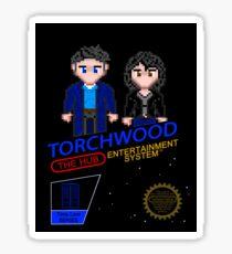 NINTENDO: NES Torchwood  Sticker