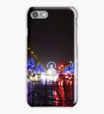 Paris Christmas Markets iPhone Case/Skin