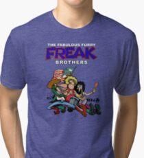 Fabulous Freak Brothers Tri-blend T-Shirt