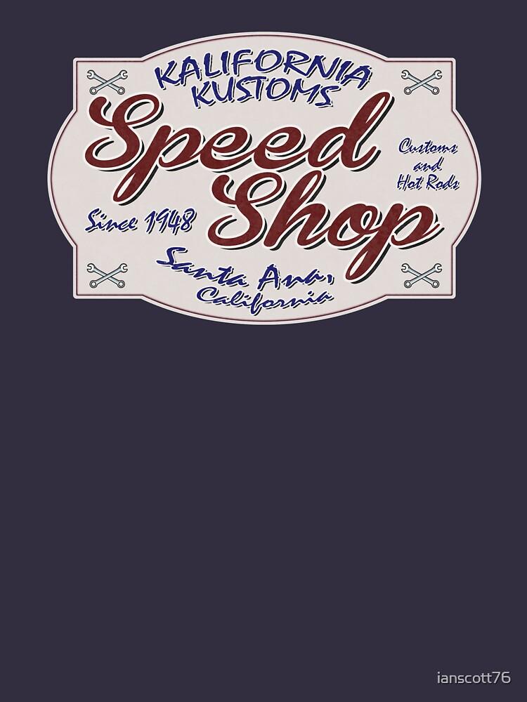 Speed Shop by ianscott76