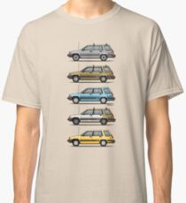 Stack Of Mark's Toyota Tercel Al25 Wagons Classic T-Shirt
