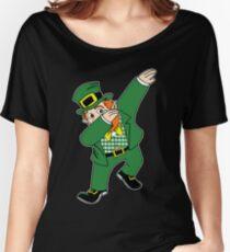 Dabbin' Leprechaun Women's Relaxed Fit T-Shirt