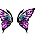leggings butterfly eyes by mandyemblow