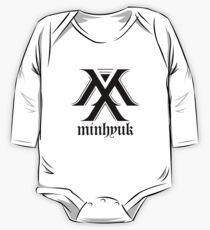 Monsta X logo + Minhyuk One Piece - Long Sleeve